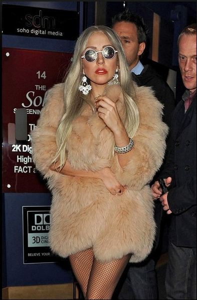 My girl rocking my rocks in Europe - i love you Gaga