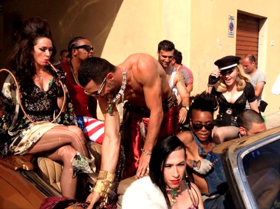 "HOT !!! NEW UP COMING VIDEO OF MADONNA ""TURN UP THE RADIO "" WITH MY WORK"