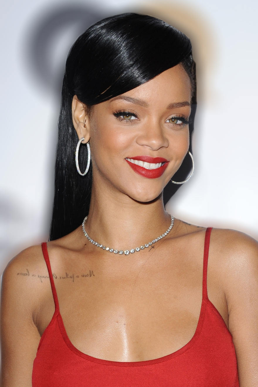 Rihanna's MASTER SHINE RODRIGO OTAZU WORK FOR LRCO BRAND