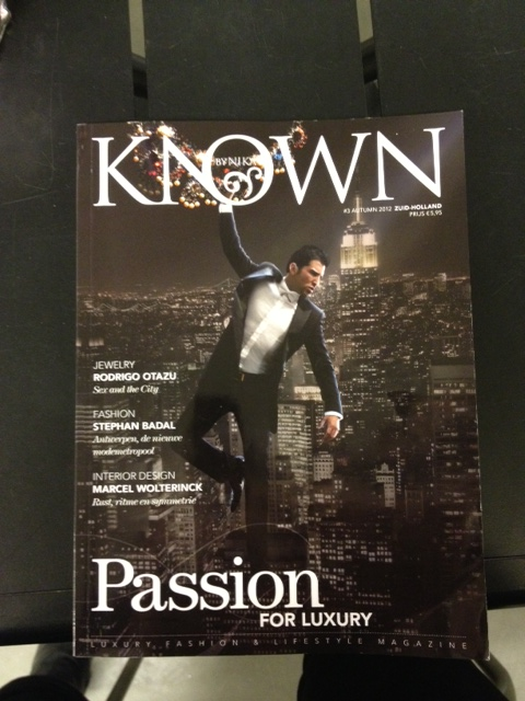 ON THE COVER RODRIGO OTAZU TALKING ABOUT LUXURY / PASSION AND HIS NEW BRANDS