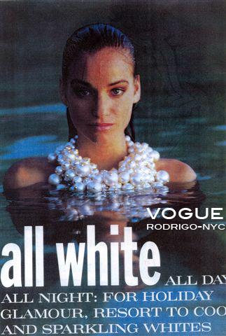 Vogue and designer rodrigo otazu team up for This cover rodrigo NYC brand is loving every minute !  www.rodrigonyc.com