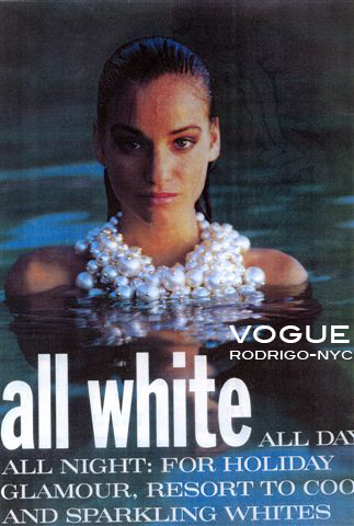 Vogue and designer rodrigo otazu team up for This cover rodrigo NYC brand is loving every minute !  www.rodrigonyc.com