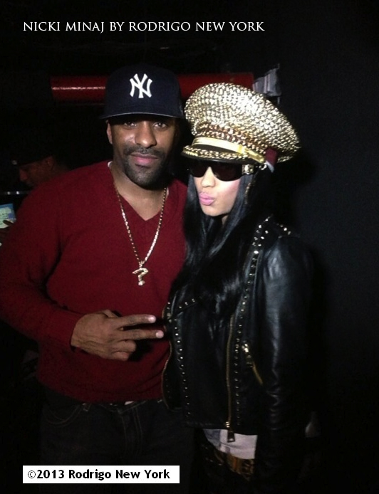 rodrigo new york nicki minaj 2013
