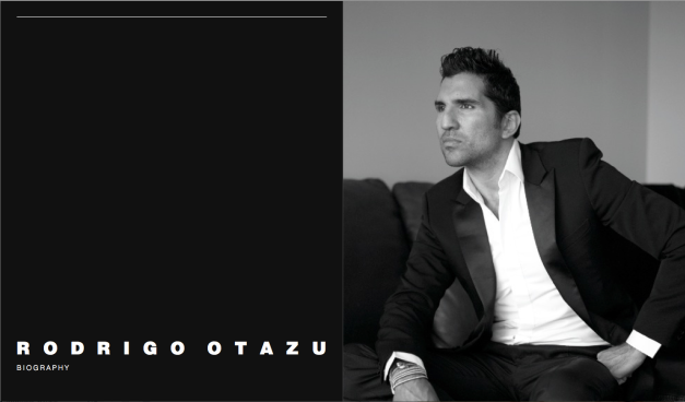 Rodrigo Otazu Biography Rodrigo Otazu designs by pure instinct and straight from the heart. He displays a glittering talent; OTAZU MILESTONES & INTERNATIONAL COLLABORATIONS Otazu can turn his hand and eye to a wide range of style commodities and the finished result always carries the distinctive signature of a designer who has an intensely personal touch and a fiercely cre- ative vision. 'I am self-taught and have a very per- sonal style, for me design is about a feeling inside me, a sensation you want to share'. His work en- compasses myriad influences from architecture, music, travel, fashion and the arts, thus creating an essential vital energy from where Rodrigo clearly draws his passions and inspiration to craft highly original creations of stunning style. The smallest discovery can spark Rodrigo's unique creativity; the pearl necklaces he had crafted on his travels caught the eye of a fashion editor from Australian Vogue and this proved be the launch pad for his illustrious career and was the realisa- tion of a life-long dream. Since then, after settling in Amsterdam, he has dedicated his life to pursu- ing his passion for design, going on to become a household name in his adopted homeland. Initial- ly Otazu concentrated on building his success with prêt-a-porter ranges of the most deluxe costume jewellery, with the addition of refined silver collec- tions and unique one-off diamond pieces; he soon began to discover other avenues for his imagina- tion to explore. His work symbolises his passion for life and his all consuming desire to enhance the natural beauty of men and women. Starting with ground breaking couture collections of clothing and jewellery that are firmly in the world of fantasy, Otazu's vision is now translated into the most collectible and desirable ranges of dazzling yet elegant accessories from jewellery, hand-bags and shoes as well as dramatic furniture for the Otazu full look. 'I provide something dif- ferent. Especially my couture pieces, they are an emotional statement.' Otazu sets his own agenda, show-casing his collections in unique locations with the most spectacular concepts modelled by leading internationally renowned models such as Lily Cole and Erin O'Connor. Otazu has an enviable lifestyle, travelling the World and finding inspiration in the unexpected. With a natural understanding of the woman he enjoys dressing, Otazu reflects and enhances their natural style and personality, from the drama and elegance of chic Parisian women, the classic style of the American girl, to edgy and experimen- tal London girls and the sexy allure of the Italian beauty, he creates innovative and imaginative jew- ellery and accessories that transcend trends and become timeless pieces to cherish. 'Sexuality is the most important element in my work, it is all about chemistry. Seductiveness is a constant connection. Fashion is about being seductive and elegant and this follows through into my work.' Otazu also greatly enjoys the collaborative pro- cess, revelling in the challenge of adding another dimension to an established designers' collection as seen in his sought after work for Christian Lac- roix, or by embellishing something as pedestrian as a Vespa Scooter or Nissan Car and turning it into something spectacular. Behind the scenes Otazu has also teamed up with Clements Ribeiro, Un- garo, Jean-Paul Gaultier and Viktor & Rolf to great success. The statement that his work makes has created de- mand for costumes for some of the World's lead- ing music artists from Kylie Minogue, for whom he created a special diamond piece in association with the House of Gassan, to Kelis, Lauren Hill, Aretha Franklin, Destiny's Child, as well as Britney Spears. Otazu is fast becoming a global brand with the help of the stylish and distinctive women who are always looking for the next astonishing design col- lection and spreading the word. Otazu is now avail- able in more than 15 countries counting 300 sales outlets, amoung which include key cities around the World from London to Paris, Amsterdam to Dubai and from Moscow to Milan. These are pow- erful designs for powerful women who enjoy their beauty and how wearing Otazu draws everyone's attention to it. All designs are personally created by Rodrigo Otazu with the highest possible degree of attention and handmade produced in Otazu production unit in Bali.