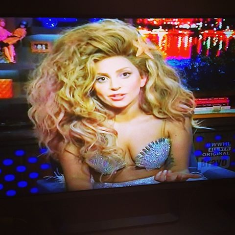 Gaga on TV again with her favorite piece yet on Bavo TV www.Rodrigonewyork.com