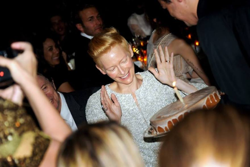 MoMA's ANNUAL FILM BENEFIT HONORING TILDA SWINTON wearing on of my rings I am so proud ! rock on baby ! i love you The birthday girl Tilda Swinton Photography: Steve Eichner www.rodrigonewyork.com