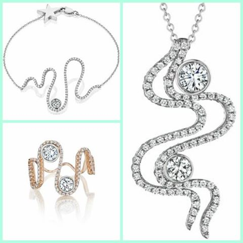 This are few of my favorite pieces that i did for the diamonds are for ever full of magic and positive vive collection I tell you ... i am so proud to team up with such luxury brands such as De Beers Forevermark and A LINK to make my seams come true Please contact us for the perfect Xmas gift at www.rodrigonewyork.com
