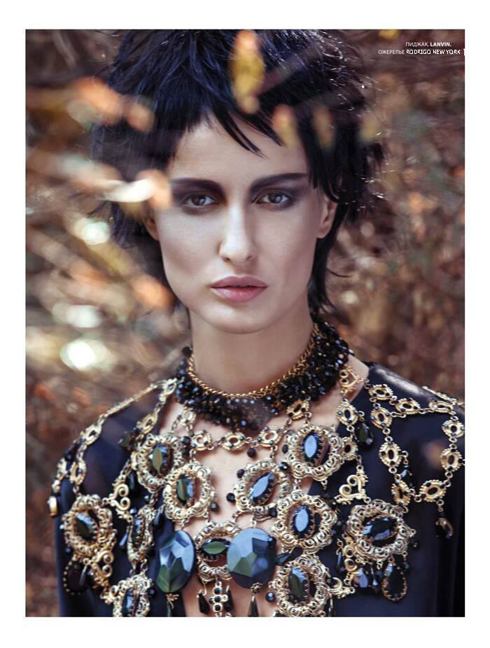 Top Model Ervin O'conor old good friend of mine showing  in L'Officiel  my work thank you very much ! love XRO www.rodrigonewyork.com